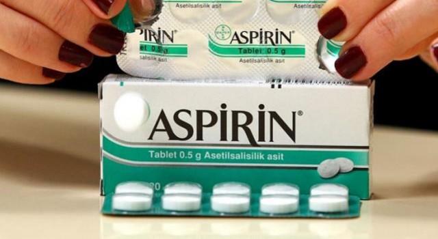 ABD'den aspirinle ilgili ilginç açıklama