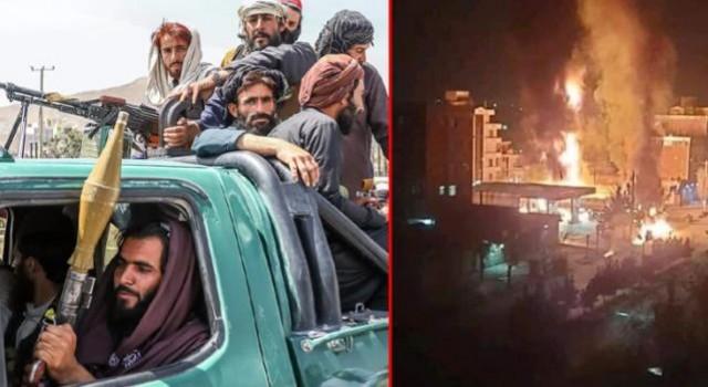 Kabil'de Taliban güçleri ile DEAŞ üyeleri çatıştı