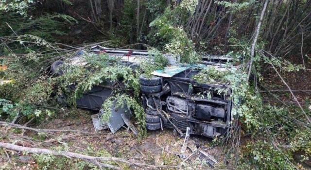 Samsun'da Yolcu otobüsü devrildi... Ölü ve yaralılar var